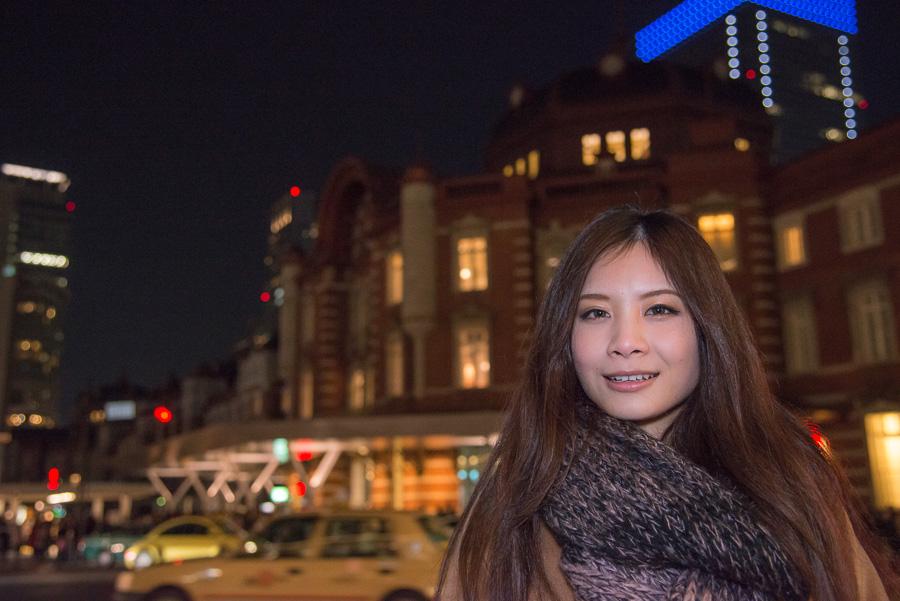 2012/12/22(土) 朱宮美礼 イルミネーション@丸の内