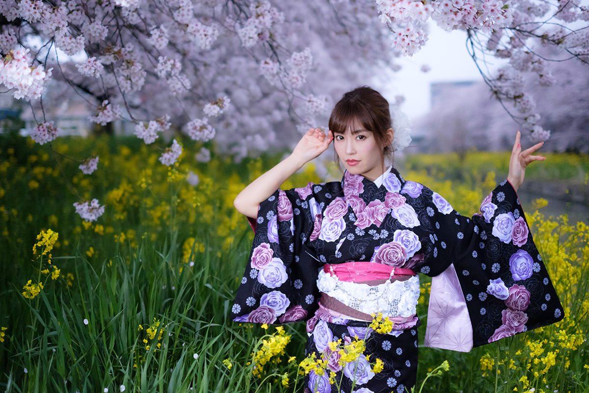 『写らん♪春の着物撮影会 其の壱~昼顔、夜顔』 清水彩香 Part-II
