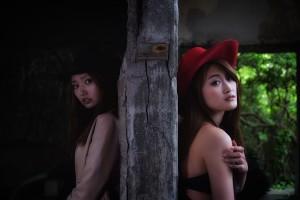 『テンガロンハットの女の子2』 相内梨沙、宮木梨衣 Part-III
