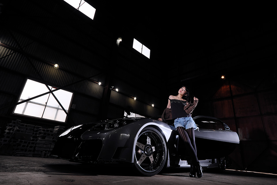 北田智史 WS撮影会『CAR×GIRL第二弾』Part-I 住崎すみれ