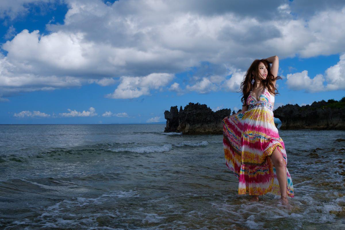 『沖縄旅撮~永遠の日』 Part-IV 白石ゆうか Vol.1