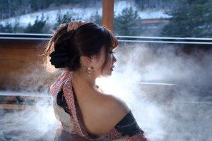 『冬の結晶~四万・雪と湯煙の旅情』 清水彩香 Part-II