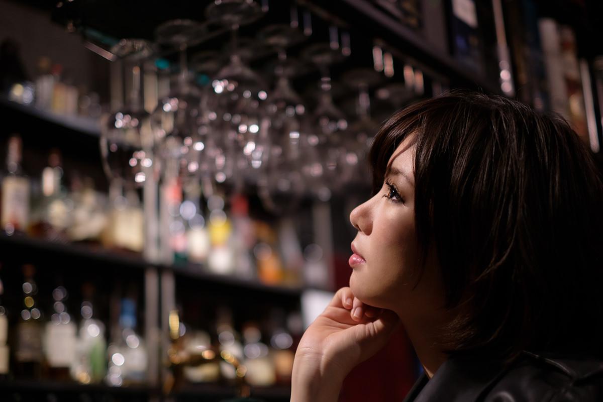 マシュマロ 新宿 Bar ROSSO 個人撮影会 かむこ