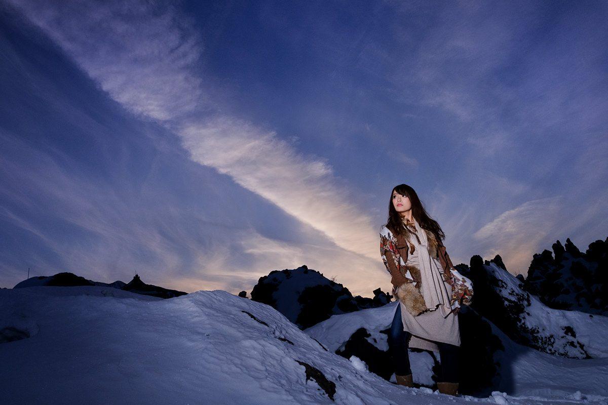『冬の結晶~軽井沢・ハイランダーガール』 白石ゆうか Part-III
