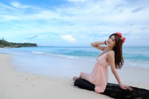 『The Water World in OKINAWA』 Part-III 宮木梨衣